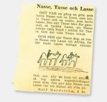 Nasse Tasse och Lasse